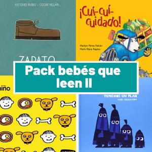 Pack Bebés que leen II